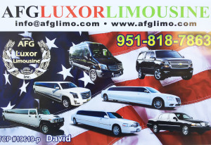 AFG limo & sedan services